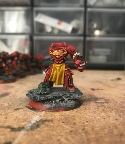 blood angel power fist