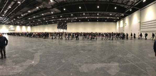 the salute 2017 queue