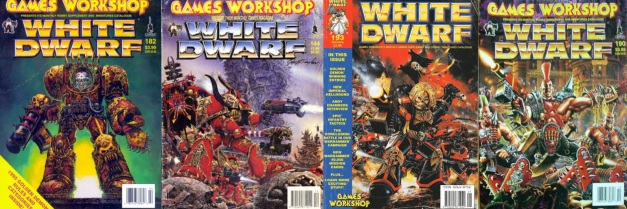 old white dwarf covers