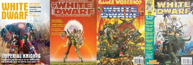 white dwarf covers