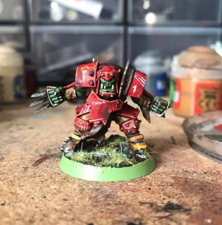 blood bowl orc lineman