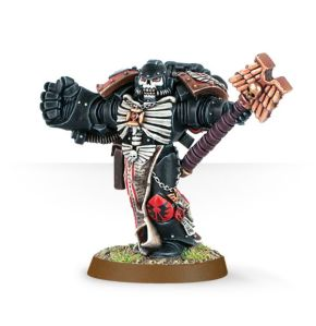 chaplain with fist