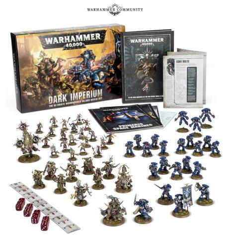warhammer 40000 starter set contents