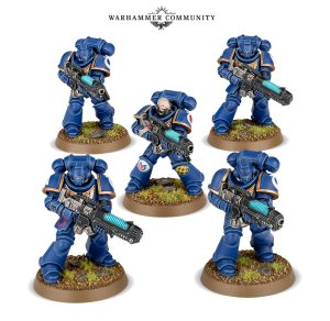 primaris marines with plasma weapons