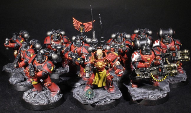 blood angels veteran tactical squad
