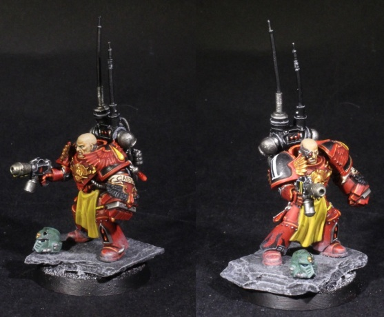 blood angels legion veteran sergeant