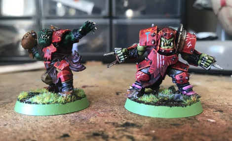 orc blood bowl models