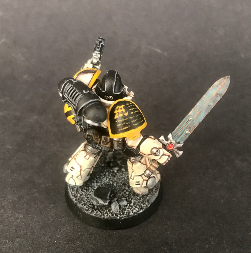 primaris space marine bronze sword