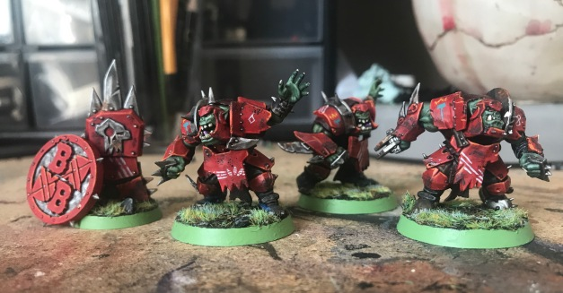 orc blood bowl team wip