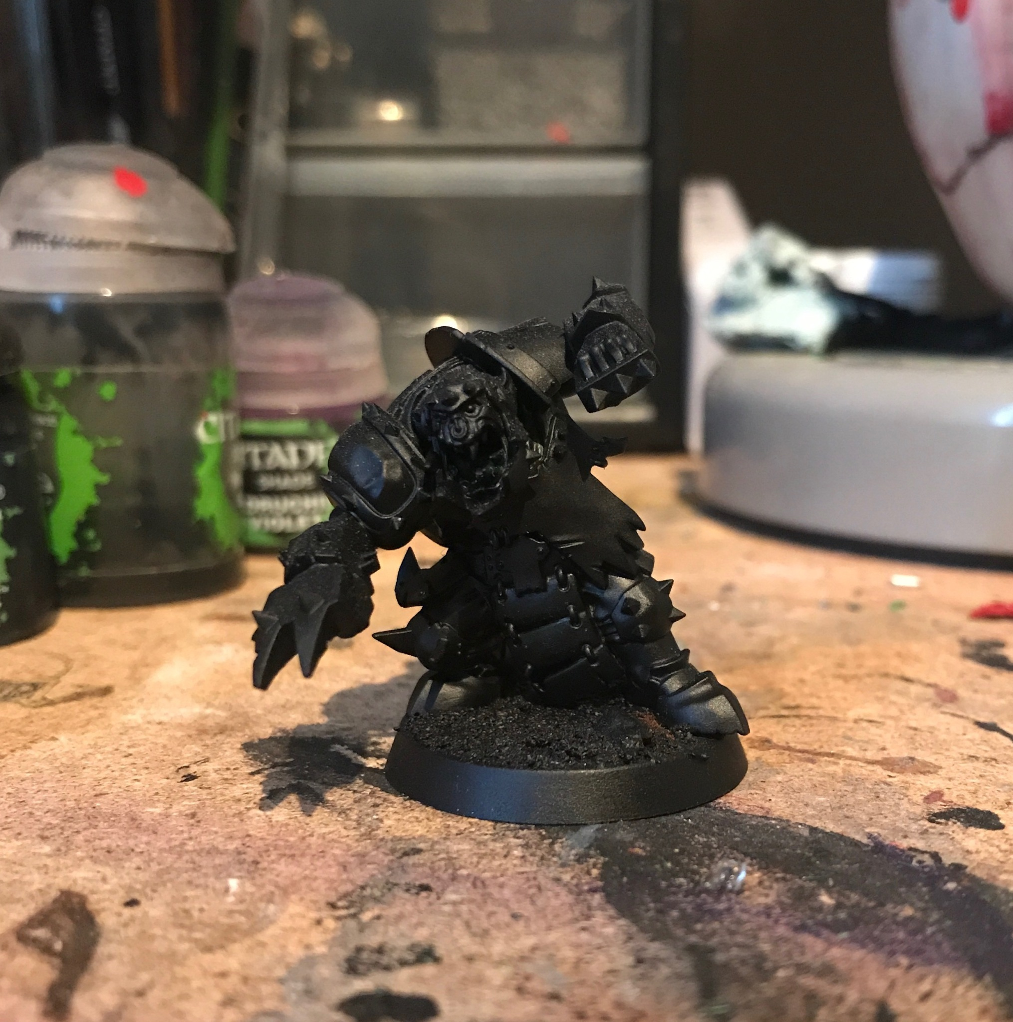 undercoated black orc blocker