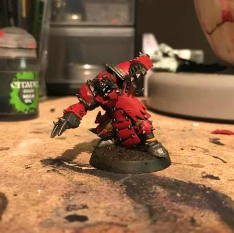 applying washes to miniatures