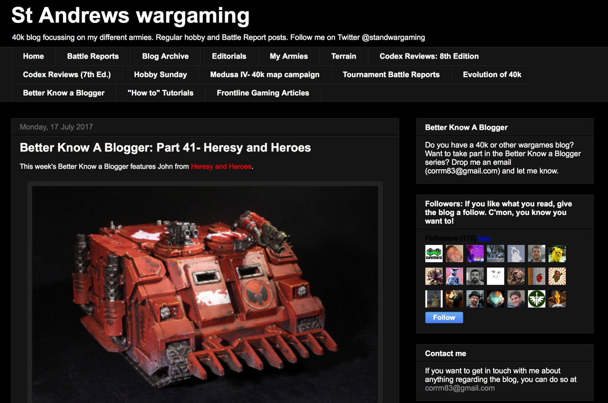 St_Andrews_wargaming__Better_Know_A_Blogger__Part_41-_Heresy_and_Heroes