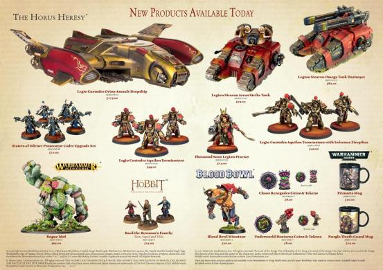 forge world open day 2017 new products