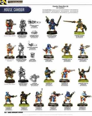 cawdor miniatures