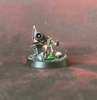 Warhammer 40000 Pickle Rick miniature