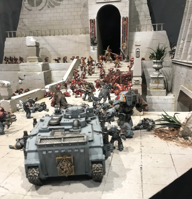 prospero battle of tizca warhammer world