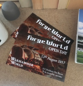 Forge World Open Day Tickets