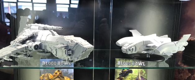 legio custodes orion dropship size comparison