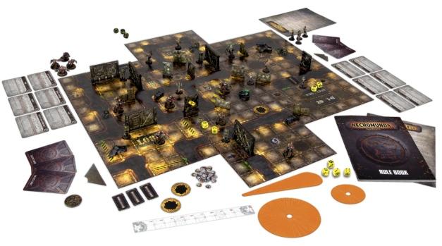 Necromunda 2017 Box contents