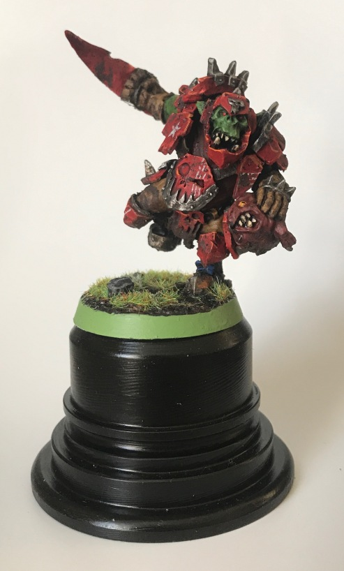 varag ghoul-chewer on display plinth