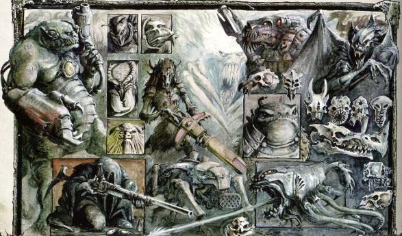 warhammer 40000 bestiary