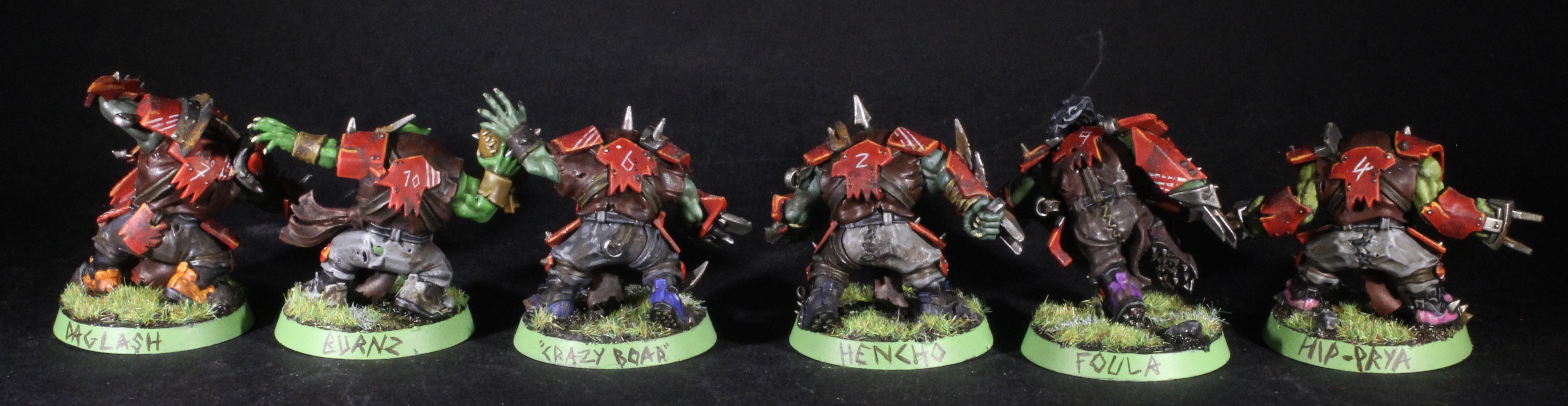 blood bowl orc team names