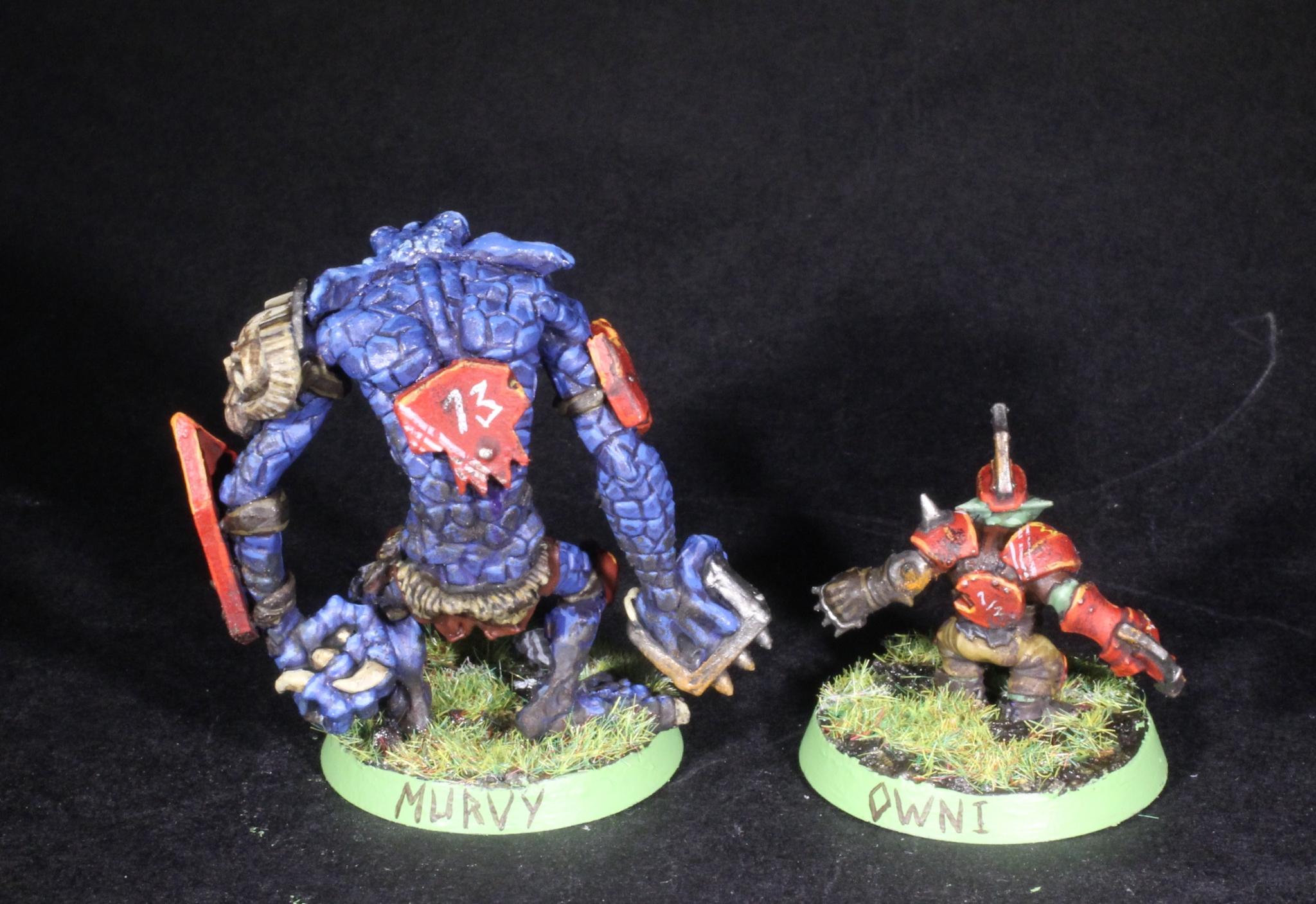 troll and goblin