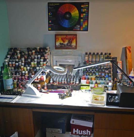 bruno painting desk
