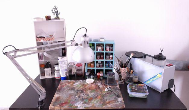 tammy painting desk