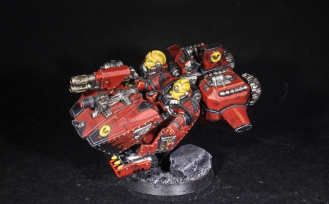 blood angels hammer land speeder
