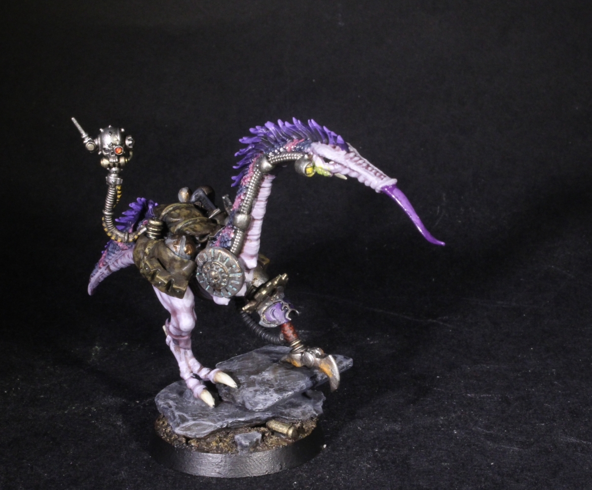 Slaaneshi Pack Mule - The Deviant Dark Mech Steed