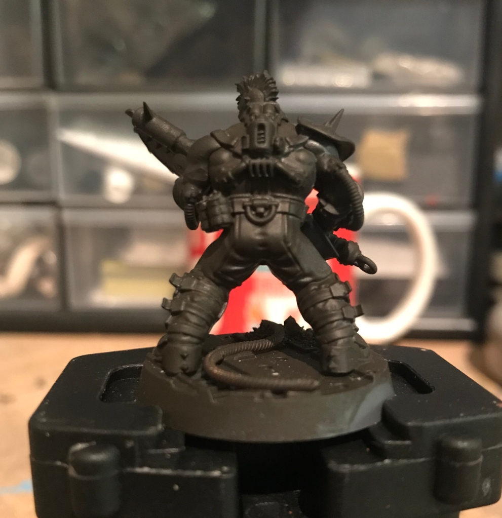 how to paint worn leather miniatures tutorial