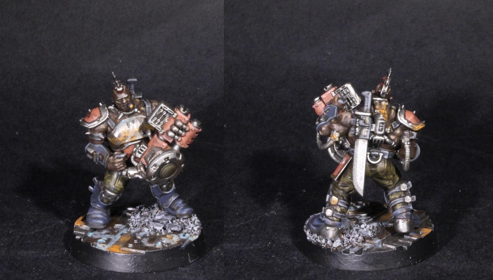 goliath champion with krumper rivet cannon