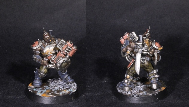 goliath champion with krumper rivet cannon