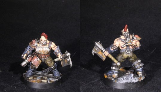 goliath ganger with grenade launcher and brute cleaver