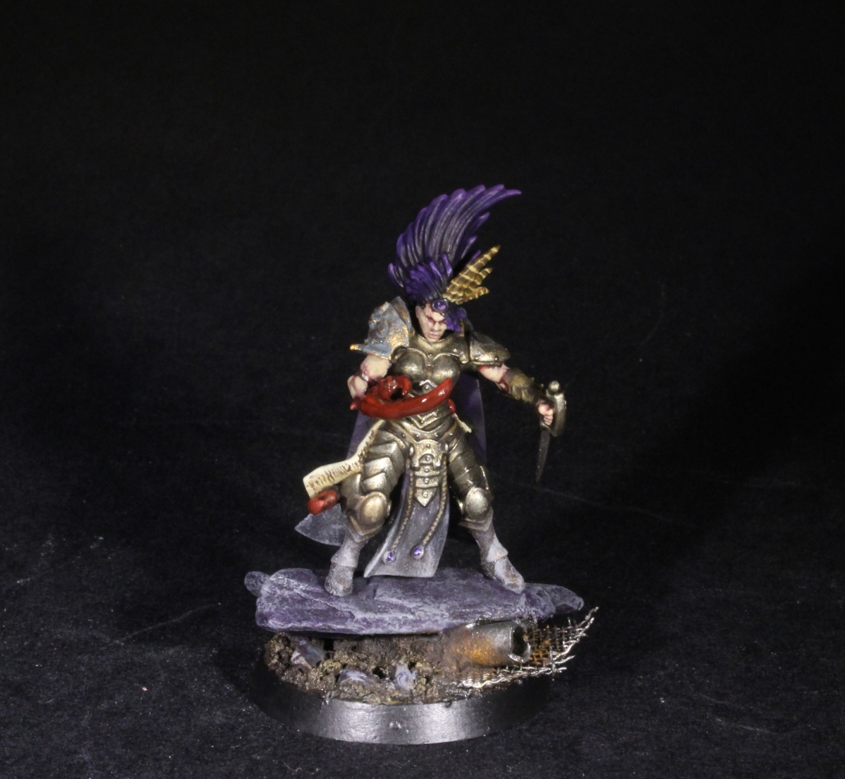 The Guardian Huntress - Slaaneshi Cult Warrior
