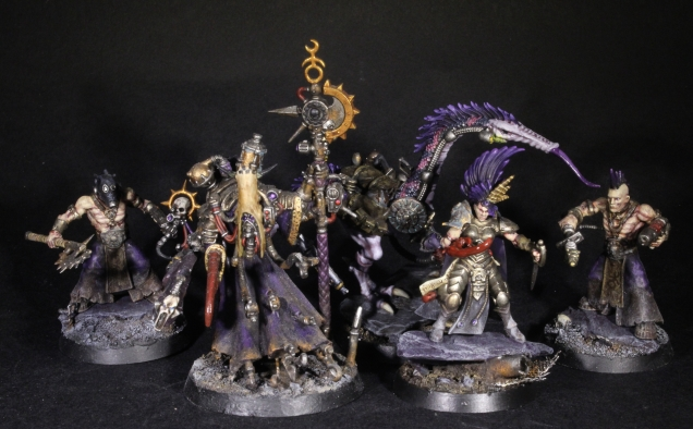 slaanesh dark mech warband