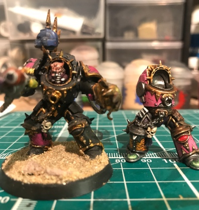 old new paint job comparison