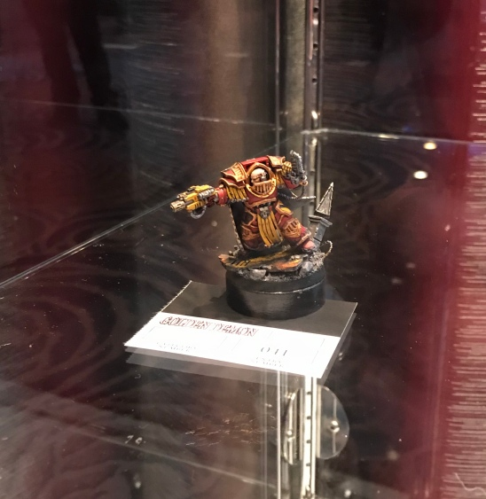 john ashton single miniature horus heresy golden demon entry