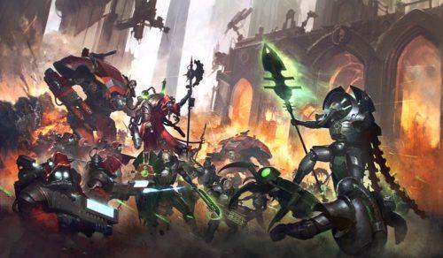 warhammer 40000 forgebane art