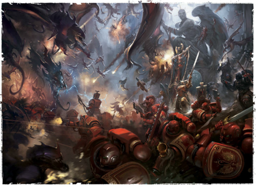 blood angels tyranids baal