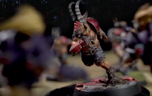 chaos blood bowl team beastman