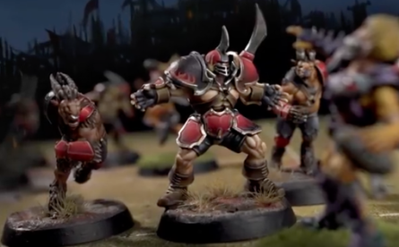 chaos blood bowl team chosen