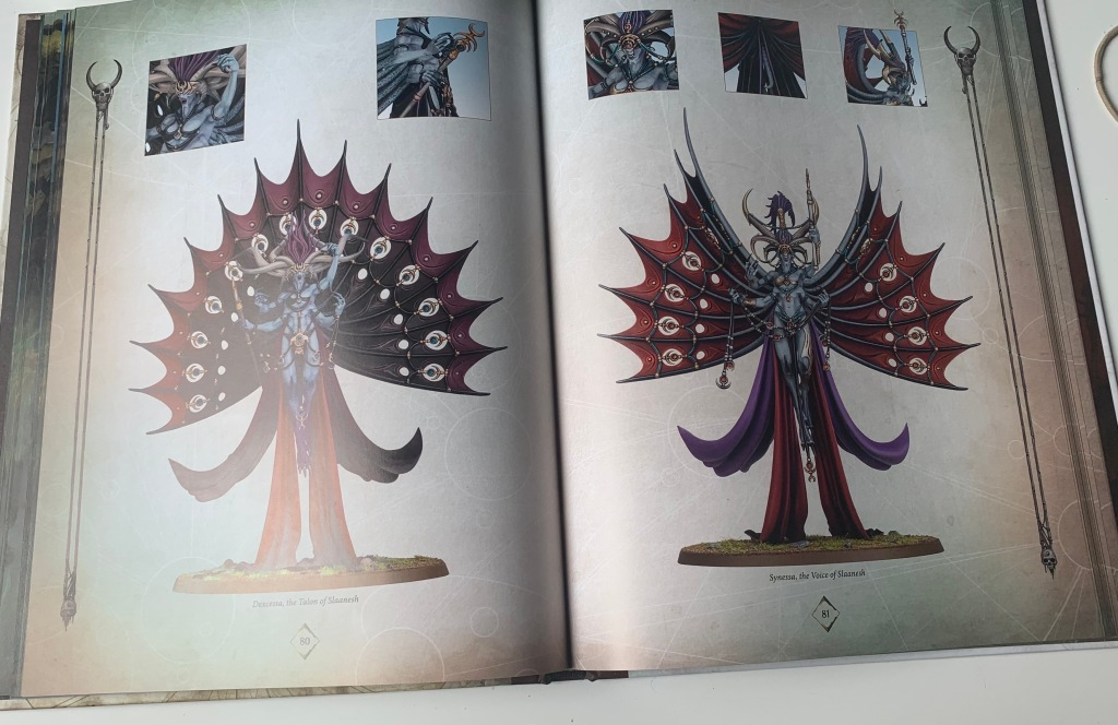 the voice and the talon of slaanesh