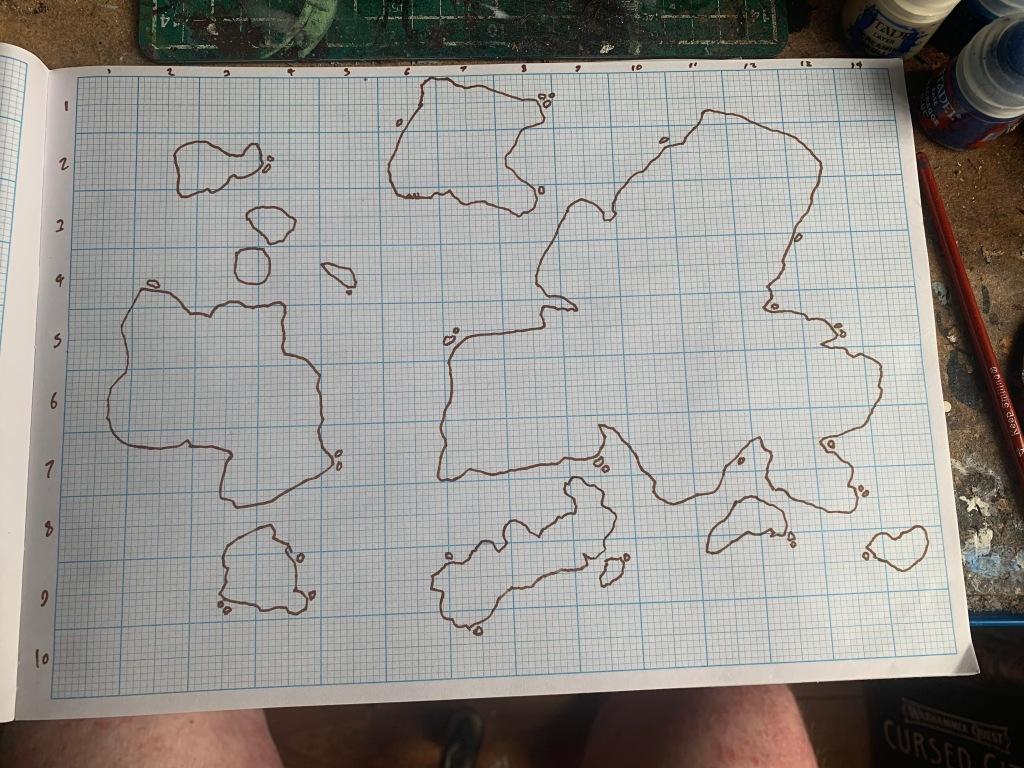 creating a fantasy map