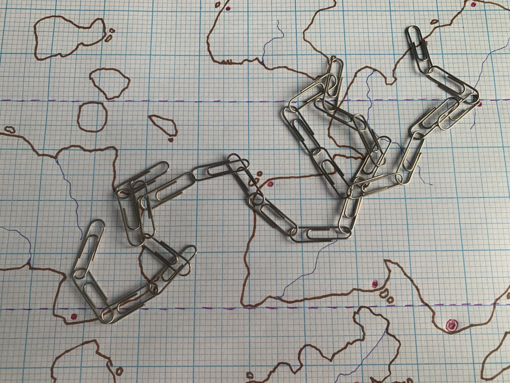 how to make a mountain chain