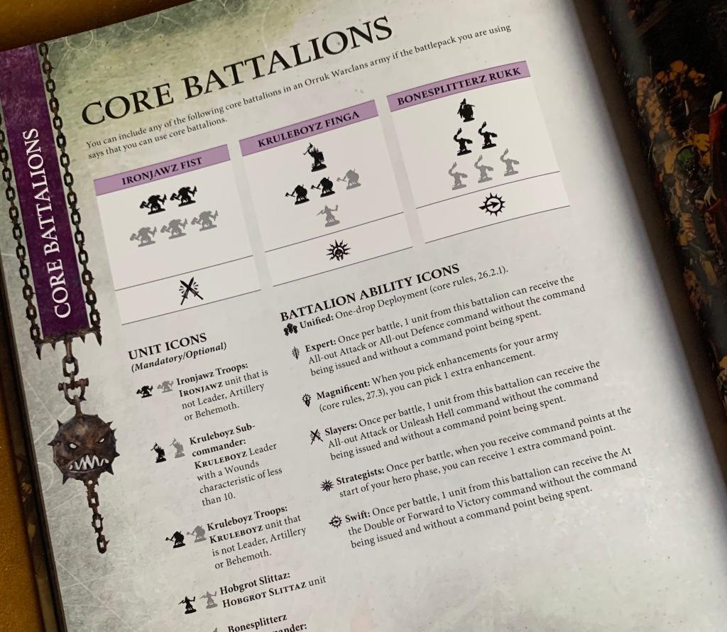 orruk battalions