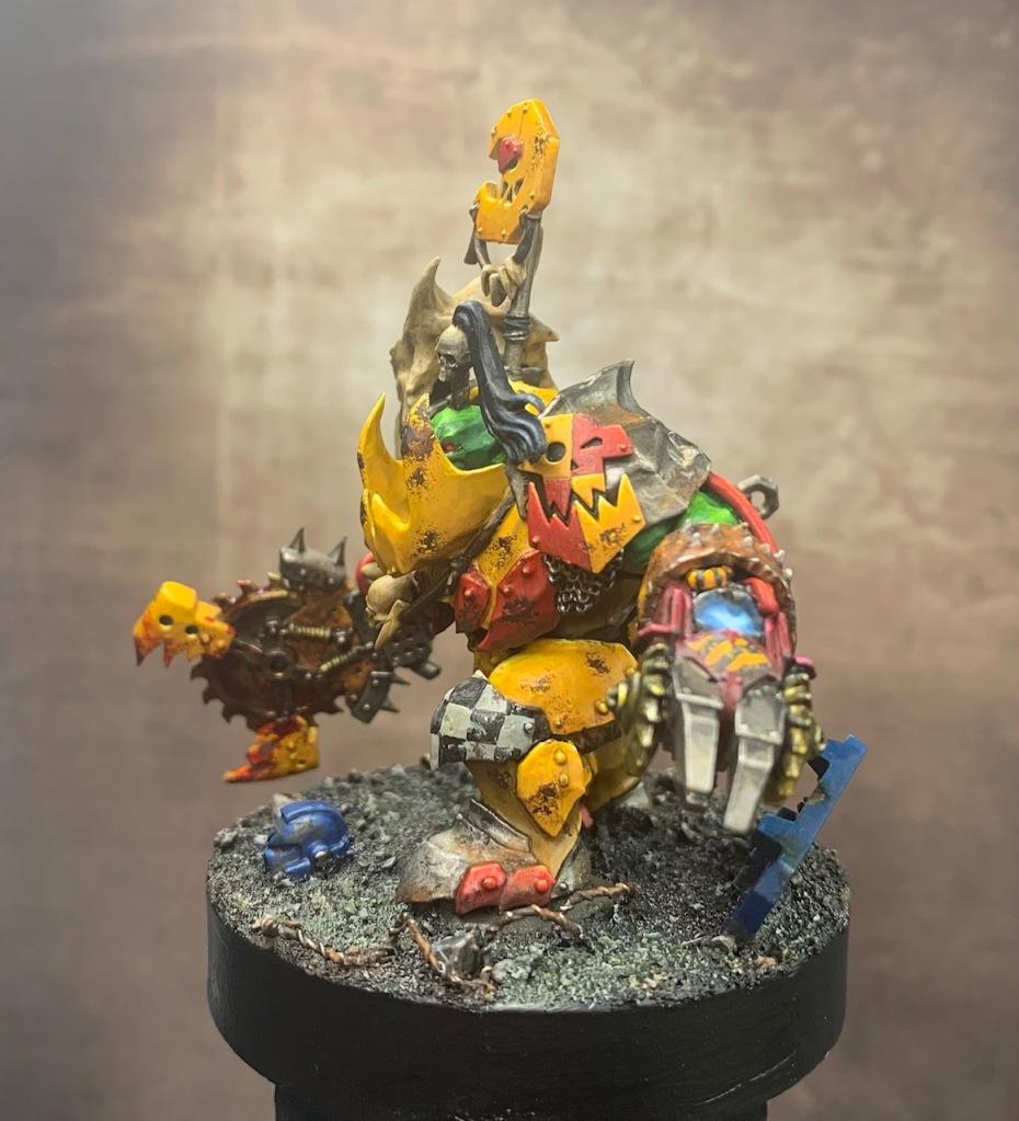 yellow ork armour